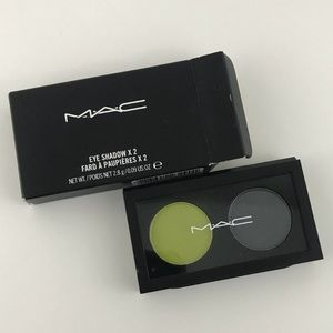 "NEW Authentic MAC Eyeshadow Duo ""Double Feature"""